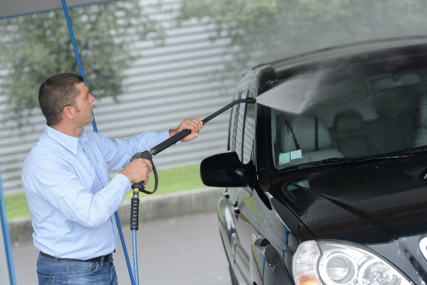 mycie auta przed sprzedażą