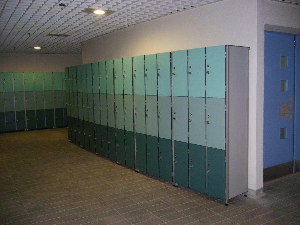 szafki systemowe HPL