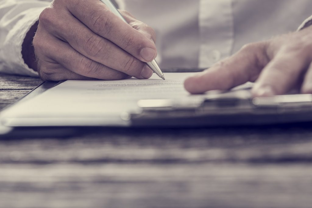 testament pisemny - notariusz katowice